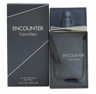Calvin Klein Encounter Eau De Toilette Edt 100Ml Spray - Men's For Him. New
