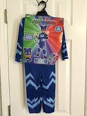 New Disguise Catboy Classic Toddler PJ Masks Costume Small 2T