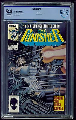Punisher Limited Series #1 (1986) CBCS Graded 9.4 ~ Mike Zeck ~ Not CGC