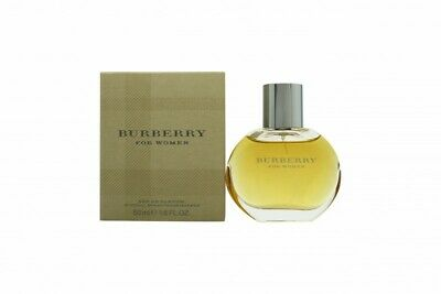 Burberry Eau De Parfum 50Ml Spray - Women's For Her. New. Free Shipping