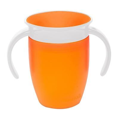 Munchkin Miracle 360 Entraînement Tasse (Orange) 207ml Bébé Sippy Tasse