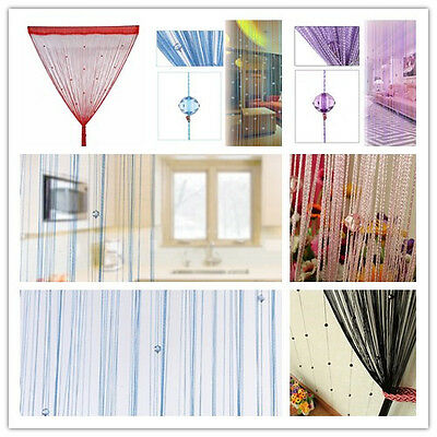 1Set Decorative Tent Fly Beads Curtain Cute Beads Portiere Curtain Door Curtain