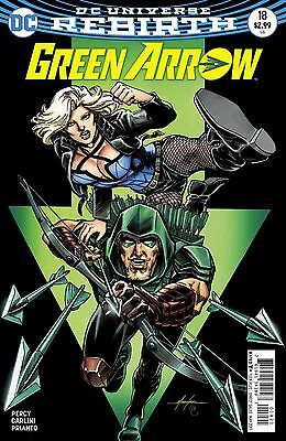 GREEN ARROW #18, VARIANT, New, First Print, DC REBIRTH (2017)