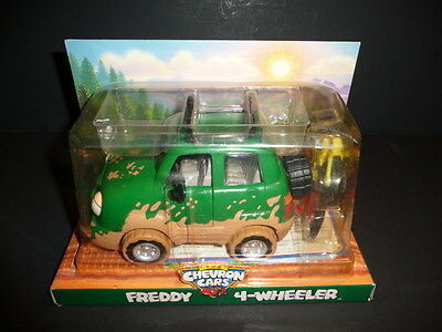 The Chevron Cars Freddy 4-Wheeler With Bikes New Sealed 1996