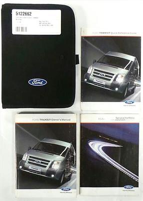 2011-14 Ford Transit Owners Handbook Manual and Wallet - 5122662