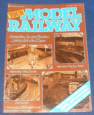 Your Model Railway  October 1986 - Parkwood Sidings