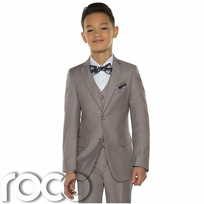 Boys Beige Suit, Page Boy Suits, Boys wedding Suits, Boys Prom Suits