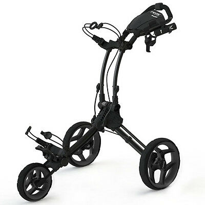 *BRAND NEW* Rovic RV1C 3 Wheel Golf Trolley - Charcoal/Black - Charcoal/Lime!