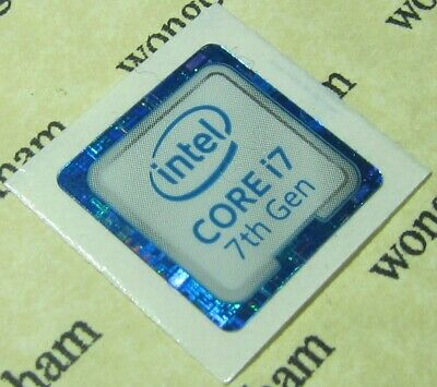 intel CORE i7 7th Gen Sticker 18mm x 18mm - (Kaby Lake)