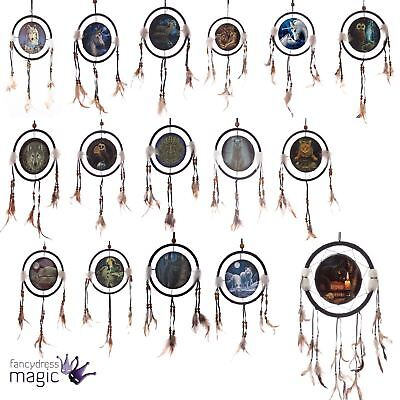 Lisa Parker Dreamcatcher Feather Dream Catcher Hanging Gothic Mandala Home Gift
