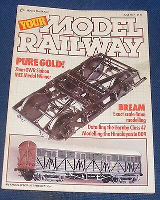 Your Model Railway  June 1987 - Pure Gold!