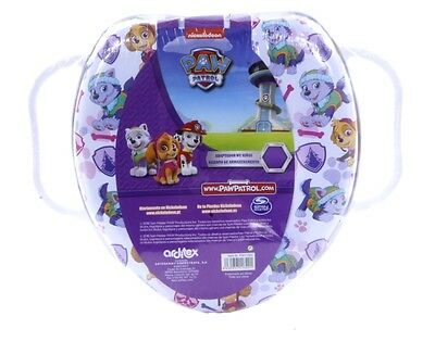 Official New Kids Girls Paw Patrol Soft Padded Cover Toilet Seat Training Seat