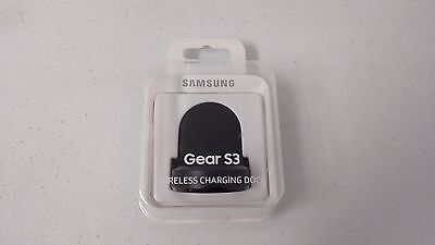 Samsung EP-YO760BBEGUS Wireless Charging Dock for Samsung Gear S3 - Black  NEW
