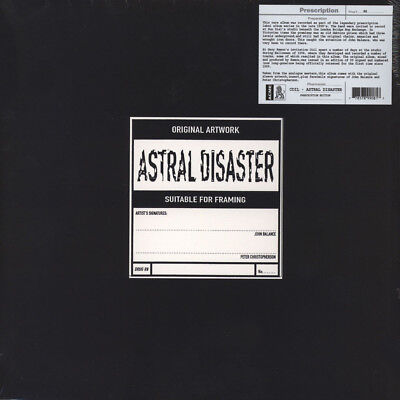 Coil - Astral Disaster Prescription  On Yellow Vinyl (LP - 1999 - UK - Reissue)