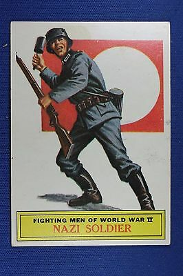 1965 Topps Battle Cards - #59 Nazi Soldier - Excellent