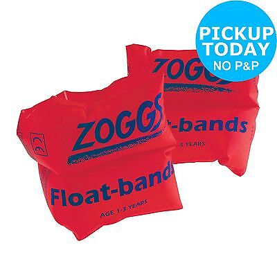 Zoggs Inflatable PVC Orange Armbands - 1-3 Years -From the Argos Shop on ebay
