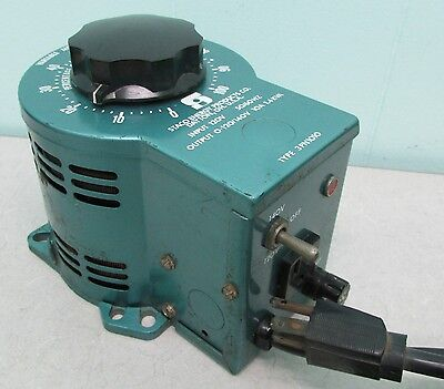 Staco Energy Products Variable Autotransformer #3PN1010