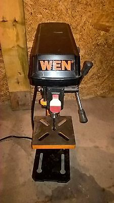 WEN 8 inch 5 speed Tabletop Drill Press Lightly used Power Tool Free Shipping