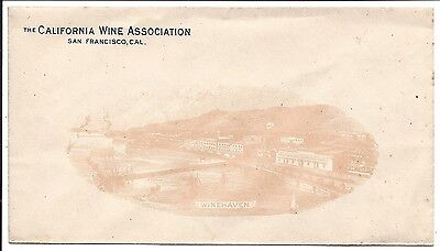 Overall Illustrated Adv Cover Shows Winehaven, The California Wine Ass'n. c1910