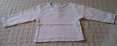 """""""Baby"""" Baby Boys White Top 9-12 Months"""