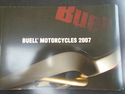 Buell Motorcycles brochure 2007 Italian text