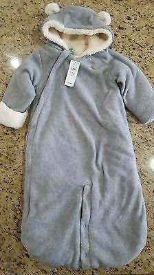 NEW Baby Gap SIZE 6-9 Months Infant Bunting/Snowsuit~Unisex Boy/Girl