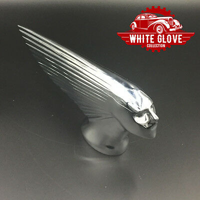 Victory or Victoire (French) Chrome Hood Ornament