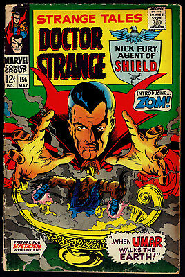 1967 Marvel Strange Tales #156 GD 1968 DC Beware the Creeper #4 VG/FN