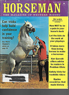 Horseman The Magazine Of Western Riding May 1972 Equine Data & Stories