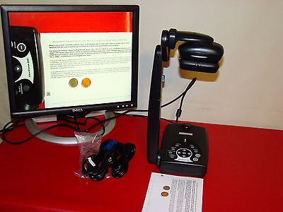AverMedia AverVision 280 (P0A3) Document Camera W/ cables Night View Plug-n-Play