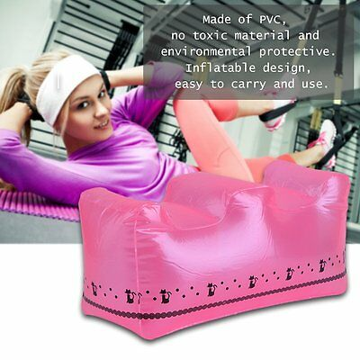Inflatable Exercise Seat Mat Pad Home Portable Travel Exercise Training Pad XRAU