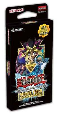 YU-GI-OH! TCG Dark Side of Dimensions Movie Pack Gold Edition Cards