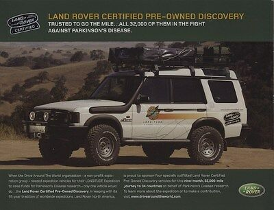 2004 Land Rover Certified Pre Owned Brochure my8289