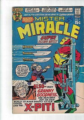 DC Comic MISTER MIRACLE #2  June 1971 Cents copy