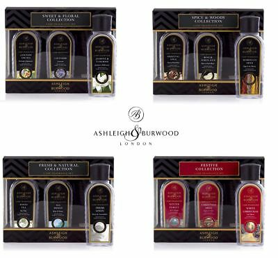 Ashleigh & Burwood Premium Sampler Fragrance Lamp Oil Scented Set Gift Box Home
