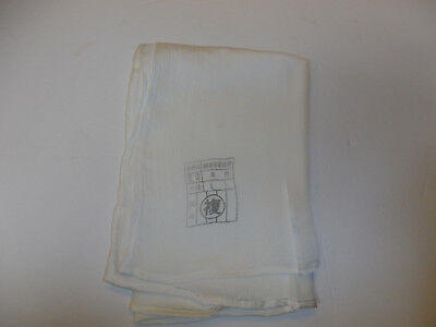 0389v WW 2 Japanese Pilot's Silk/Nylon Scarf Japan R17D