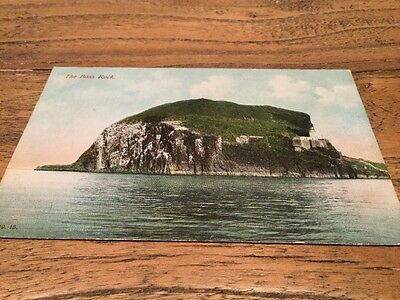 Old Postcard The Bass Rock