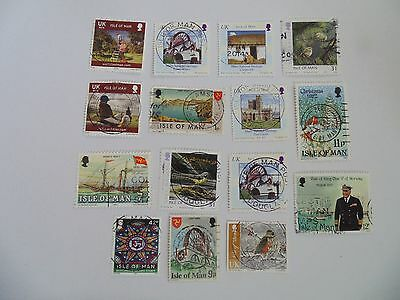 L1477 - Collection Of Isle Of Man Stamps