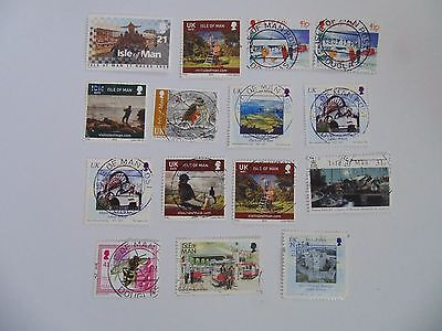 L1486 - Collection Of Isle Of Man Stamps