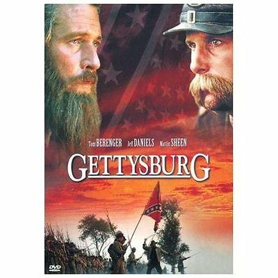 GETTYSBURG (DVD, 2000, Widescreen) New / Factory Sealed / Free Shipping