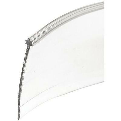 Prime-Line Products M 6227 Shower Door Star Bottom Seal, Clear New