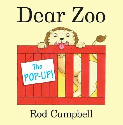 The Pop-Up Dear Zoo by Rod Campbell 9781447233565 (Paperback, 2013)