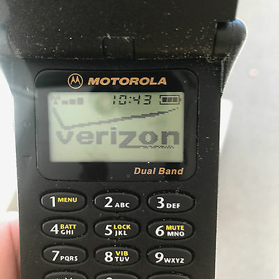 Vintage Motorola Flip Phone STAR TAC ST7800W - ST7868W 90s Tested and Functionin
