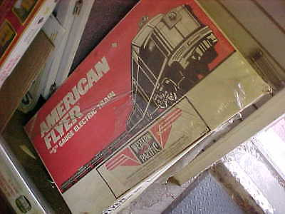 American Flyer,,,,,,# 49604...,western Pacific Zephyr Set With All Cars