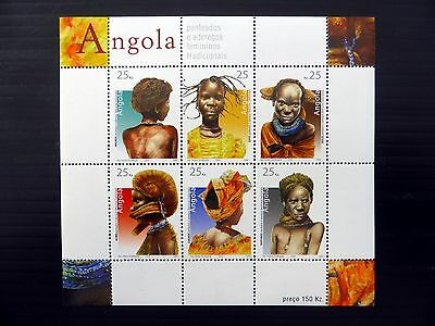 ANGOLA 2004 Female Traditions M/Sheet MS1677 U/M FP9645