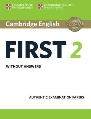 Cambridge English First 2 Student's Book Without Answers Authen... 9781316502983