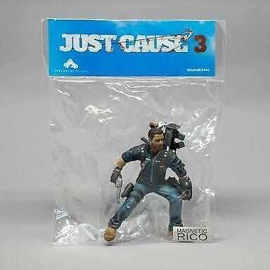 Official Just Cause 3 MAGNETIC Mini Rico Figure New & Sealed Game Merchandise