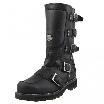 neu harley davidson herrenschuhe schuhe biker stiefel. Black Bedroom Furniture Sets. Home Design Ideas