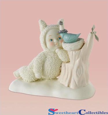 Department 56 Snowbunnies Chick Chat 4020375 Retired