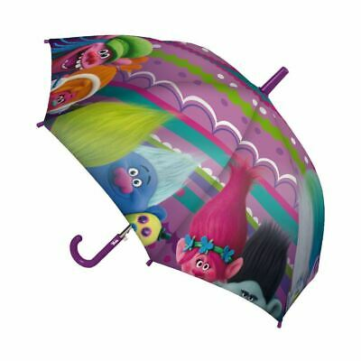 Children Kids Official Dreamworks Trolls Family Character Umbrella